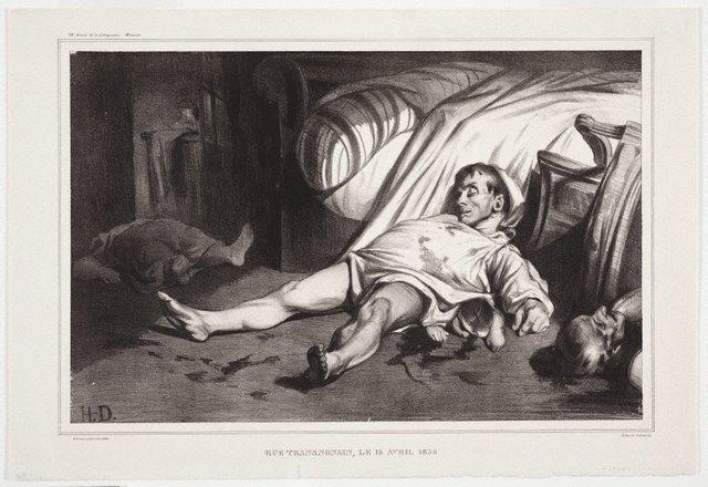 An image of Rue Transnonain, 15 April 1834