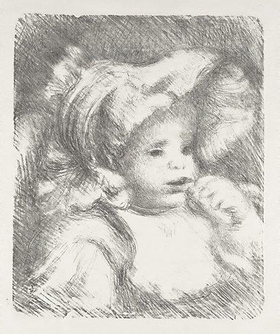 An image of Bébé by Pierre-Auguste Renoir