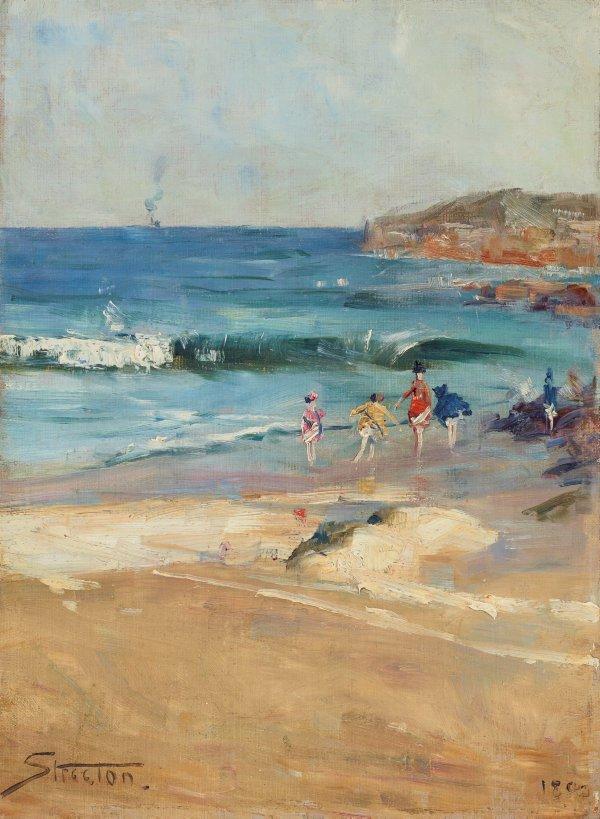 An image of Beach scene