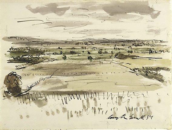 An image of Landscape near Cressy, Tasmania