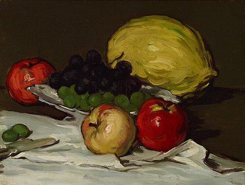An image of Melon by Samuel John Peploe
