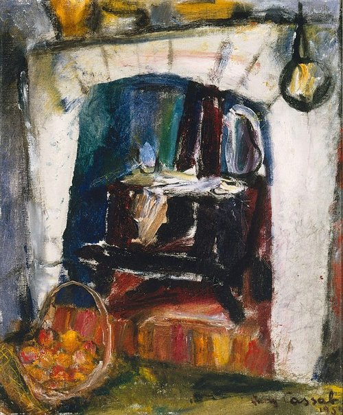An image of The old stove by Judy Cassab