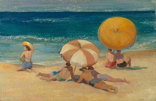 An image of Beach umbrellas