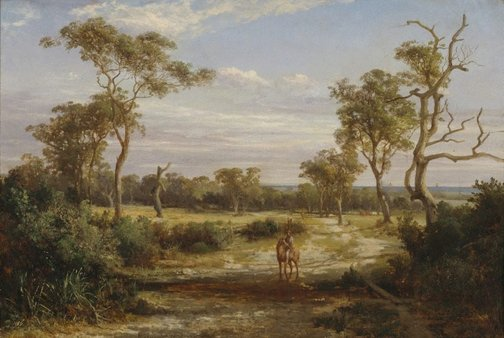 An image of At Dromana, Victoria by Louis Buvelot