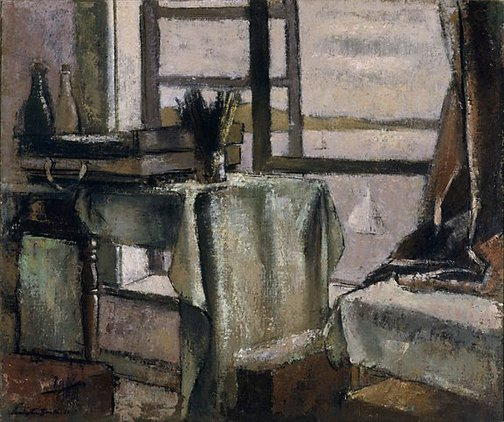 An image of Studio window by Jack Carington Smith