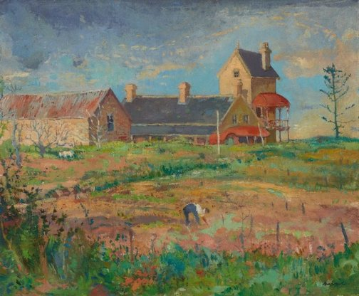 An image of Farm at North Ryde by John Baird