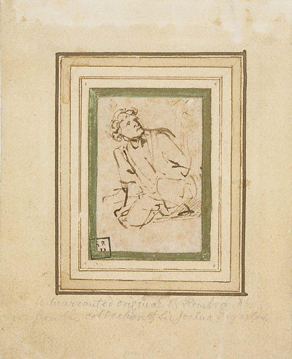 An image of Kneeling man
