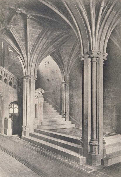 An image of A corner within the Fisher Library by George James Morris