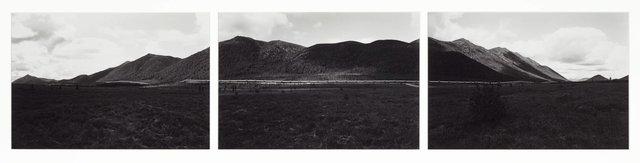 Alaska pipeline, Brooks Range, Alaska, (1981) by David Stephenson