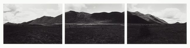 AGNSW collection David Stephenson Alaska pipeline, Brooks Range, Alaska 1981
