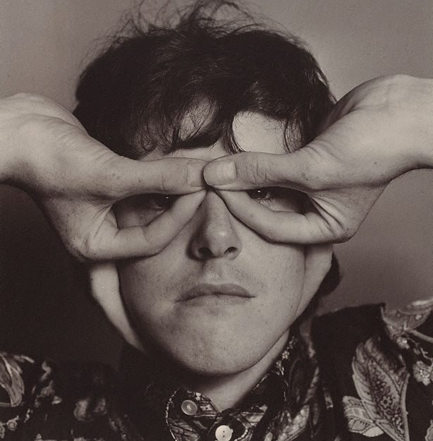 AGNSW collection Lewis Morley Donovan, musician, London 1965, printed later