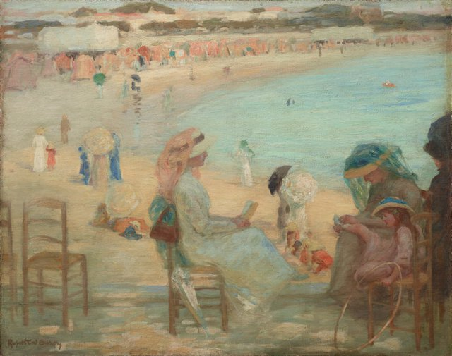 An image of On the beach (Royan)