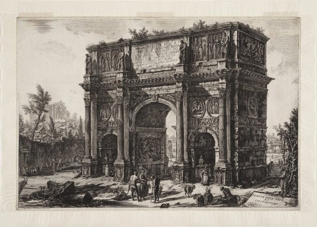 An image of The Arch of Constantine
