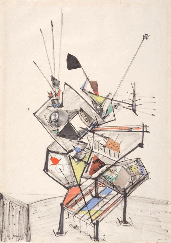 An image of Sculptural idea