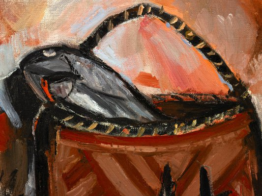 Alternate image of Fish and blackboys by Margaret Preston