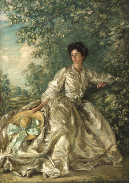 An image of Mrs Violet M Hammersley by Phillip Wilson Steer