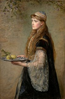 The captive, (1882) by Sir John Everett Millais