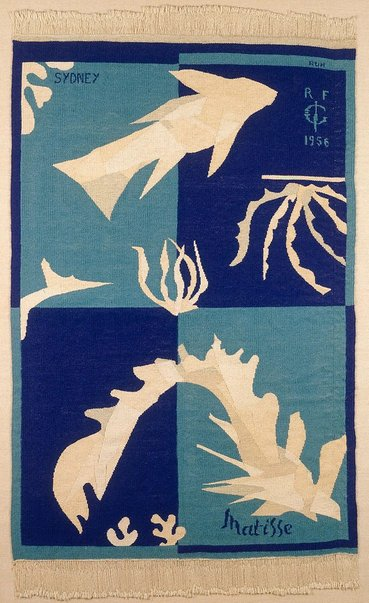 An image of Polynesia by François Ruh, after Henri Matisse