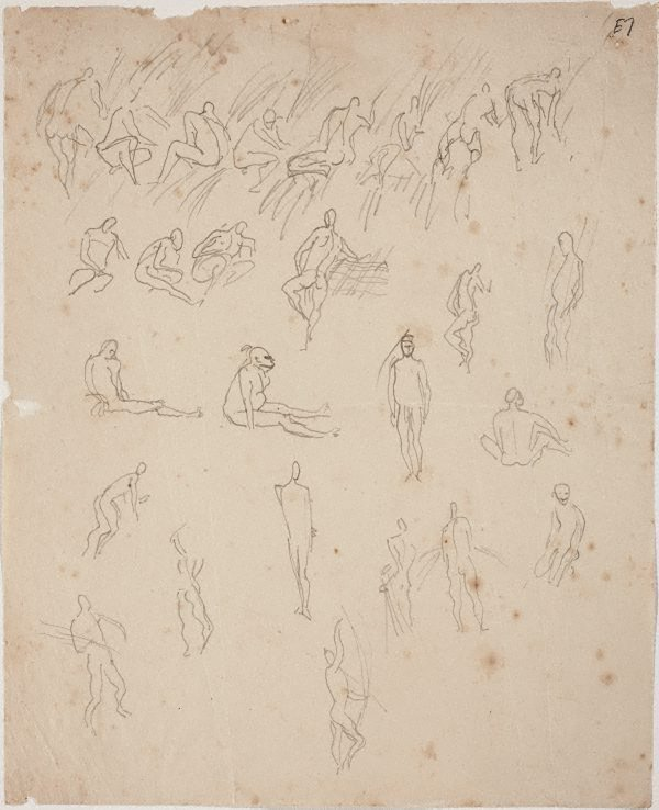 An image of Studies of thatchers