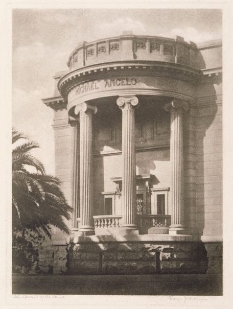An image of The spirit of the Ionic by George James Morris