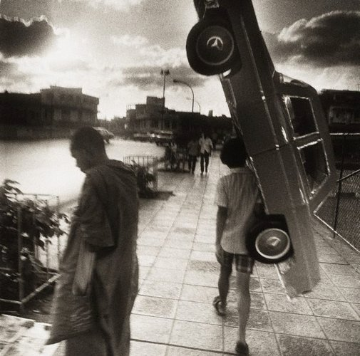 An image of Papier mâché Mercedes – Bangkok by Max Pam