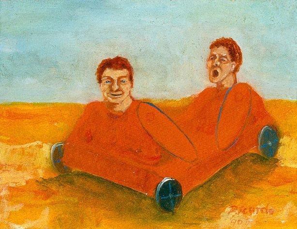 Toy boys, (1990) by Geoffrey Ricardo