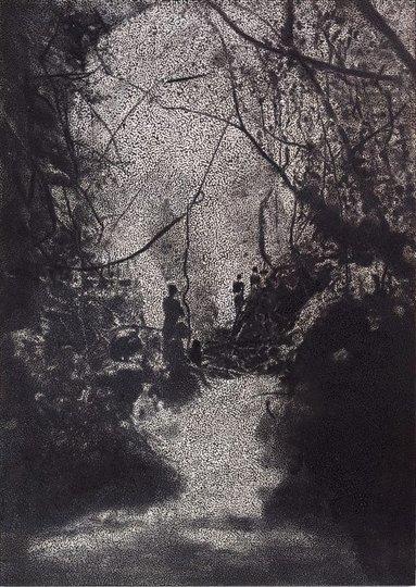 AGNSW collection Daniel Boyd Untitled (2014) 92.2014