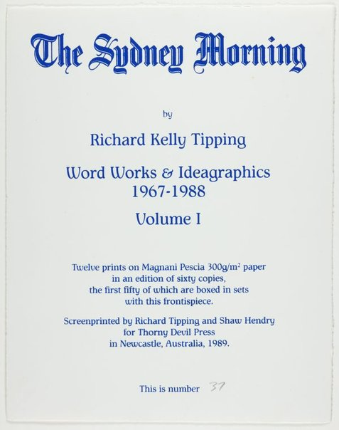 An image of (Title page) by Richard Tipping