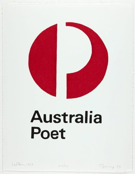An image of Australia poet, 1983 by Richard Tipping