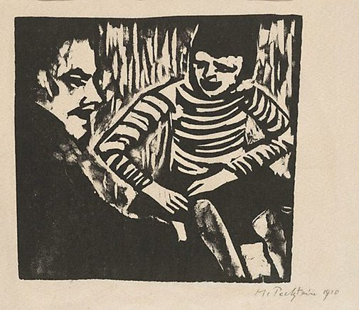 An image of Conversation by Max Pechstein