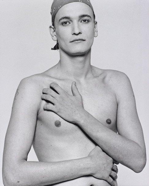 An image of Yann by Bettina Rheims