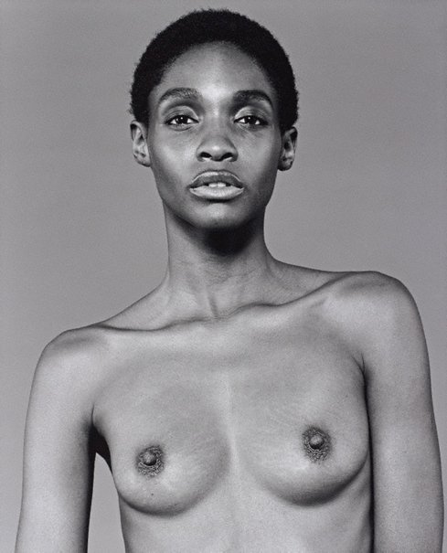 An image of Roshumba by Bettina Rheims