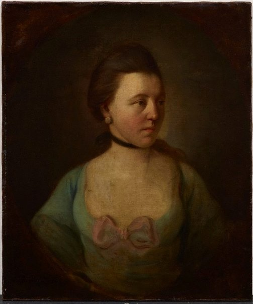 An image of Mrs Adam Skirving by attrib. Archibald Skirving