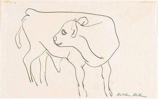 An image of Calf by Kathleen Shillam