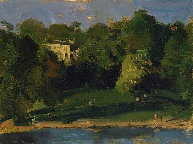 An image of Evening, Hampstead Heath