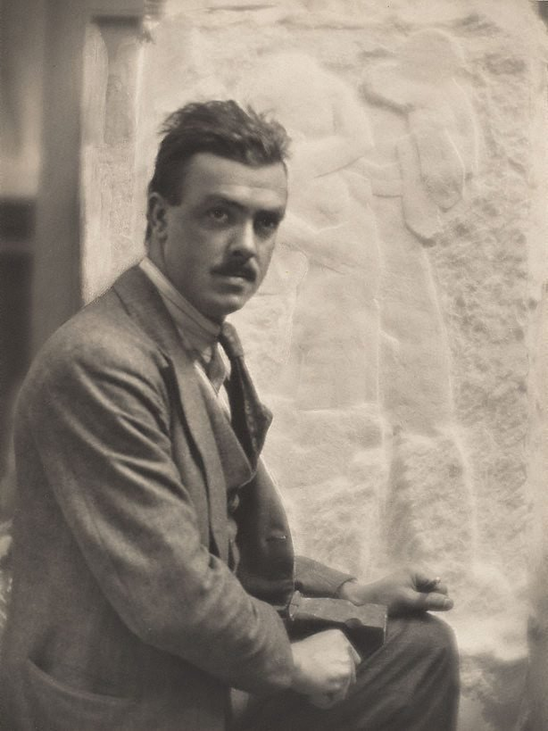 An image of Rayner Hoff, the sculptor