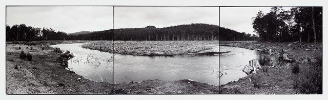 Lake King William a Derwent River hydro electric development, Tasmania, (1982) by David Stephenson