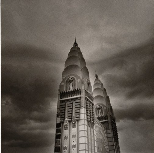 An image of Luna Park, Sydney by Max Pam