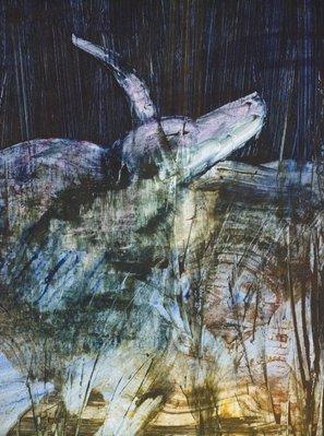 Alternate image of Animal in swamp by Sidney Nolan