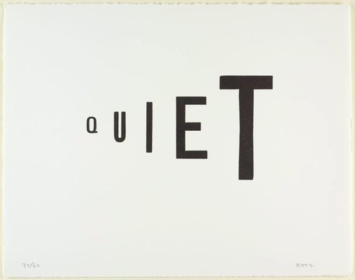 An image of Quiet by Richard Tipping