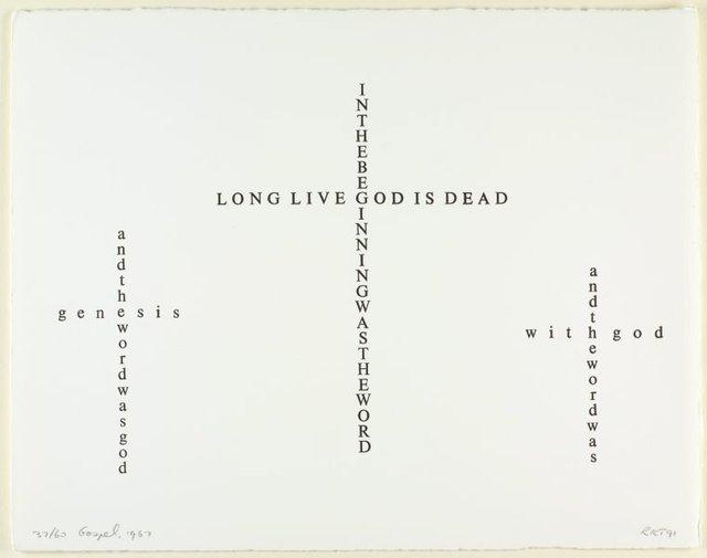 An image of Gospel, 1967