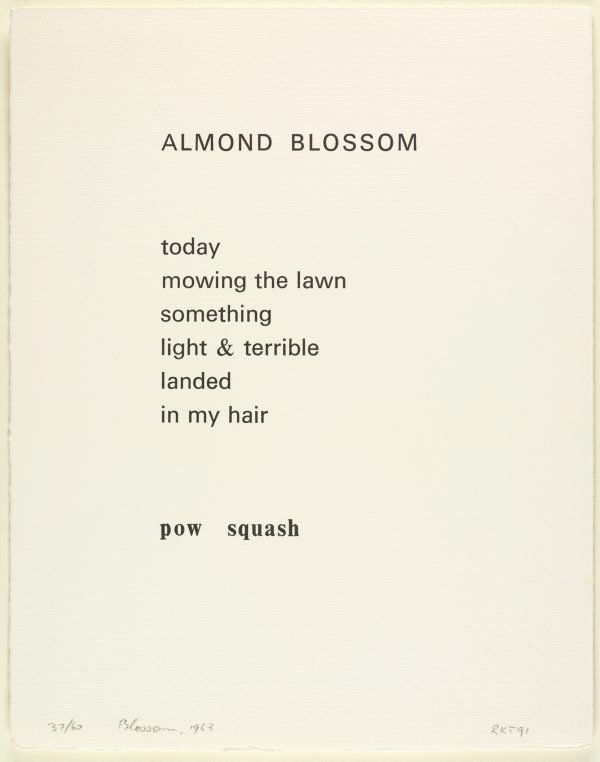 An image of Almond blossom, 1968