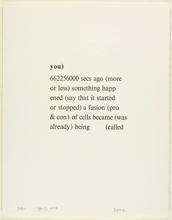 An image of You), 1970