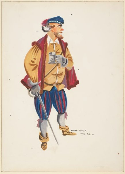 An image of Sir Toby Belch by Elaine Haxton