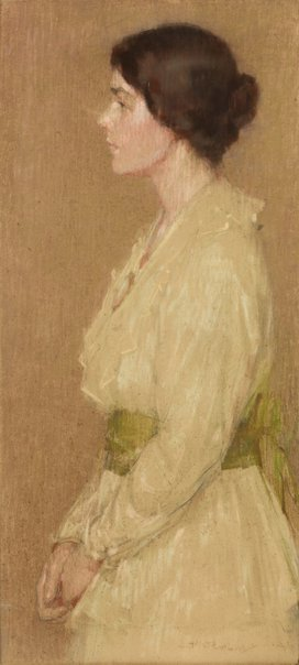 An image of Portrait by Florence Aline Rodway