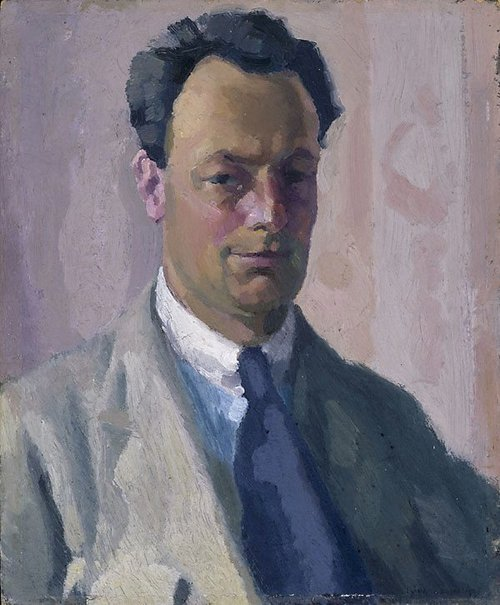 An image of Self portrait by Roland Wakelin