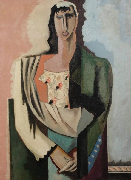 An image of Macedonian woman by Jean Lurçat
