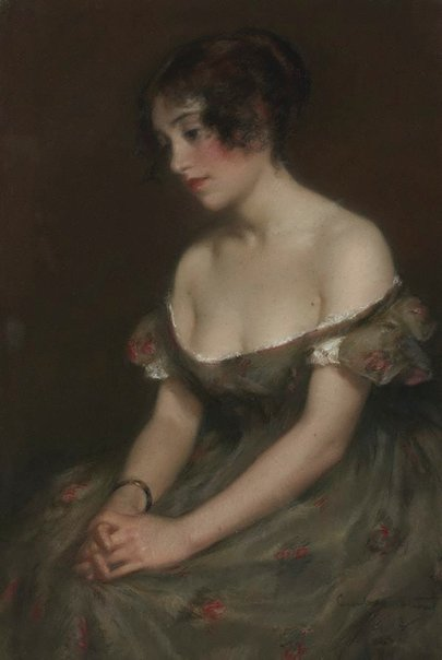 An image of Florence Dombey by Janet Cumbrae Stewart