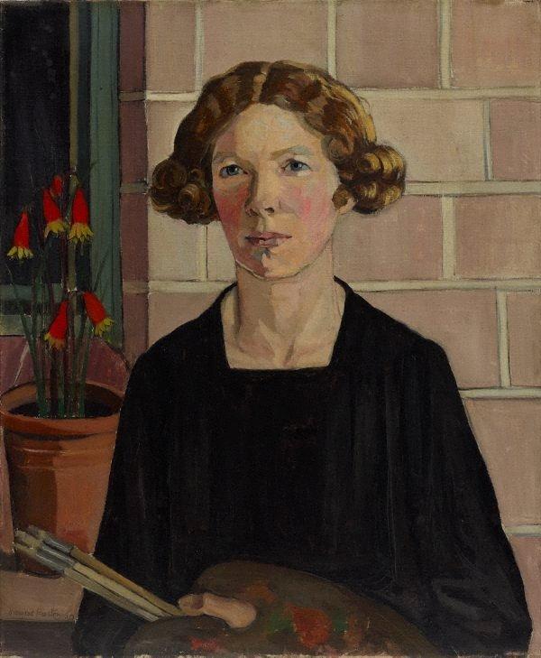 Self portrait, (1930) by Margaret Preston