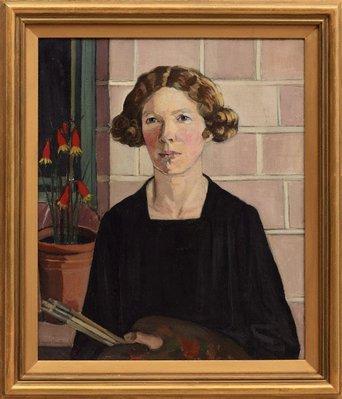 Alternate image of Self portrait by Margaret Preston